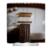 Guitar Glance Shower Curtain