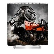 Gwr Steam Train Shower Curtain