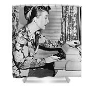 Gypsy Rose Lee Shower Curtain