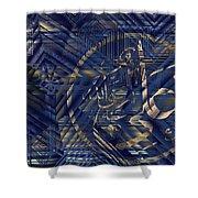 Hagia Sophia Shower Curtain by Ayhan Altun