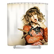 Hair Cut With Style Shower Curtain