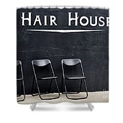 Hair House Shower Curtain