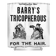 Hair Restorative, 1887 Shower Curtain