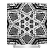 Hall Of Justice Shower Curtain