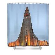 Hallgrimskirkja Church Shower Curtain