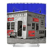 Hamburger Stand Coca-cola Signs Russell Lee Photo Farm Security Administration Dumas Texas 1939-2014 Shower Curtain