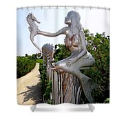 Hamptons Hideaway Shower Curtain