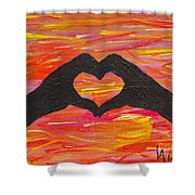 Hands Of Love Shower Curtain