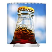 Happy New Beer Shower Curtain