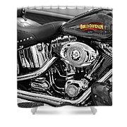 Harley Davidson Shower Curtain