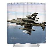 Harrier Gr7 Shower Curtain