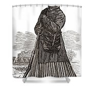 Harriet Tubman, American Abolitionist Shower Curtain