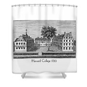 Harvard College - 1720 Shower Curtain