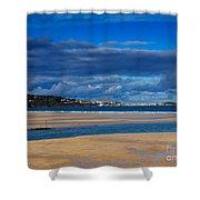 Hayle Estuary Cornwall Shower Curtain