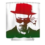 Heisenberg - 2 Shower Curtain