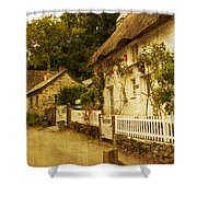 Helford Cottages Shower Curtain