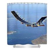 Helios Prototype, Solar-electric Shower Curtain