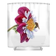 Hello My Flower Shower Curtain