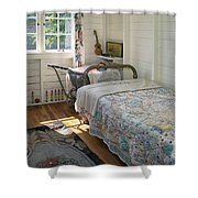 Heritage Cottage Museum On Bowen Island Shower Curtain