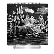 Hernando De Soto (c1500-1542) Shower Curtain