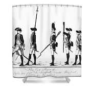 Hessian Soldiers Shower Curtain