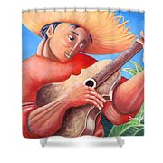 Hidalgo Campesino Shower Curtain