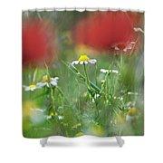 Hidden Flower Shower Curtain
