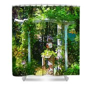 Hidden Garden Shower Curtain