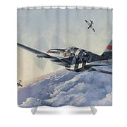 High Angle Snapshot Shower Curtain