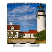 Highland Lighthouse Shower Curtain