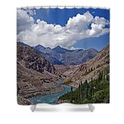 Himalayan Scenery... Shower Curtain