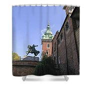 Historic Centre Cracow Poland  Shower Curtain