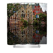 Historic Church St Louis Mo 2 Shower Curtain