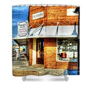 Hit The Bricks Shower Curtain
