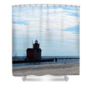 Holland Lighthouse Shower Curtain