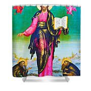 Holy Book Shower Curtain