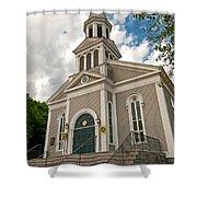 Holy Family Parish Shower Curtain