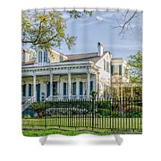 Home On St. Charles Ave - Nola Shower Curtain