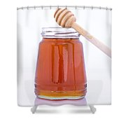 Honey Shower Curtain