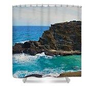 Honolulu Hi 11 Shower Curtain