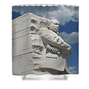 Honoring Martin Luther King Shower Curtain