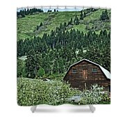 Hood River Shower Curtain