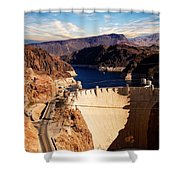 Hoover Dam Nevada Shower Curtain