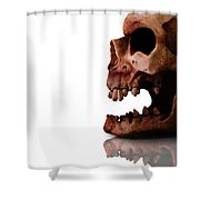 Horror Head Shower Curtain