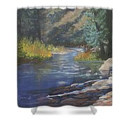 Horse Creek Shower Curtain