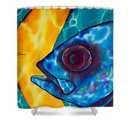 Horse -eyed Jack Shower Curtain