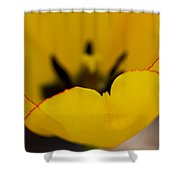 Hot Edges Shower Curtain