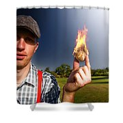 Hot Sport Shower Curtain