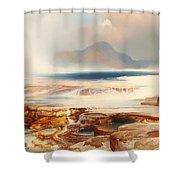 Hot Springs Of Yellowstone Shower Curtain