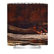 Hound And Hunter 1892 Shower Curtain